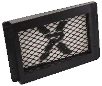 air filter moulded panel